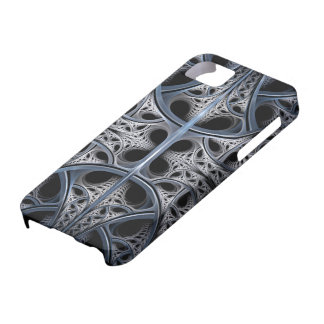 Arte esquelético del fractal de Pasillo iPhone 5 Funda