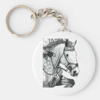 Arte EVENTING EXTREMO del caballo Llaveros