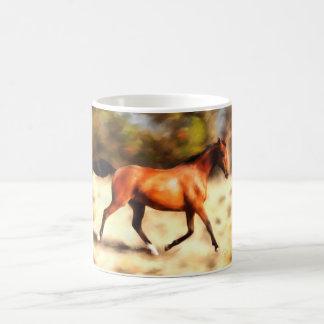Arte excelente del caballo del alcohol tazas