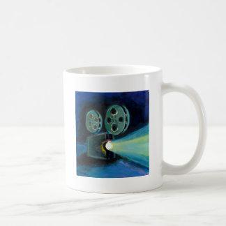 Arte expresivo colorido de la pintura del taza clásica