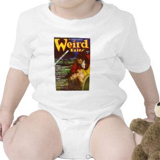 arte extraño de los cuentos trajes de bebé