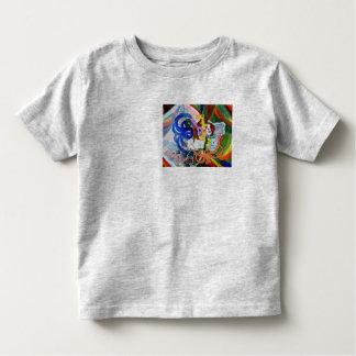 Arte extraño playera de bebé