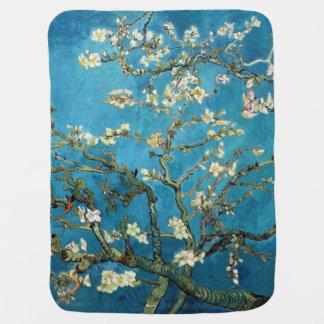 Arte famoso, árbol de almendra floreciente de Van Manta De Bebé