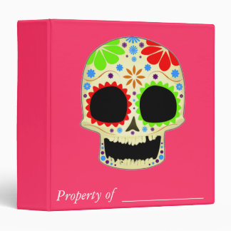 Arte feliz del cráneo del azúcar