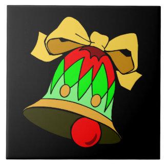 Arte festivo del día de fiesta de los cascabeles d teja