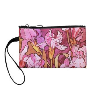 Arte floral Amethyst Nouveau del vintage de