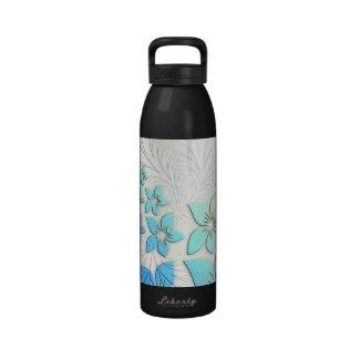 Arte floral botellas de beber