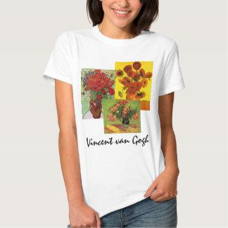 arte floral de 3 flores de diverso vintage de Van Remera