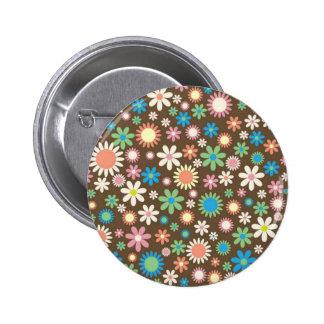 Arte floral de Brown Pins