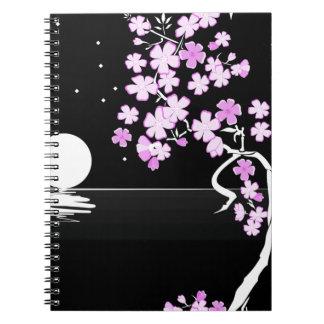 Arte floral de la pintura cuadernos