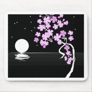 Arte floral de la pintura alfombrillas de ratón