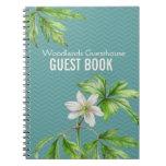 Arte floral del arbolado y cuaderno del libro de v