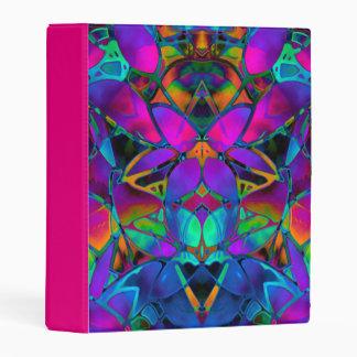 Arte floral del fractal de la mini carpeta de