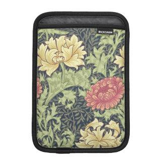 Arte floral del vintage del crisantemo de William Fundas De iPad Mini