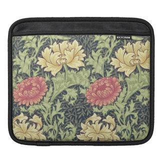 Arte floral del vintage del crisantemo de William Fundas Para iPads