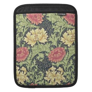 Arte floral del vintage del crisantemo de William Mangas De iPad