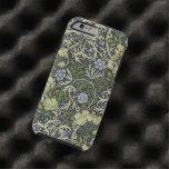 Arte floral del vintage del modelo de la alga funda de iPhone 6 tough