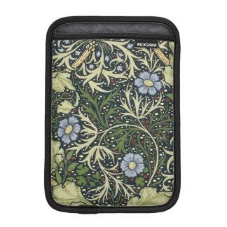 Arte floral del vintage del modelo de la alga fundas para iPad mini