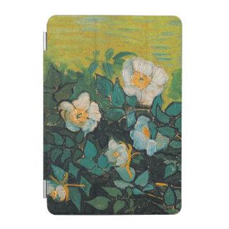 Arte floral del vintage salvaje de los rosas de cover de iPad mini