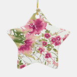 Arte floral elegante ornamente de reyes