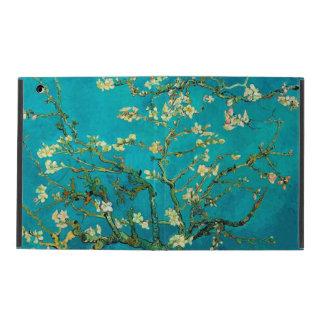 Arte floral floreciente del árbol de almendra de