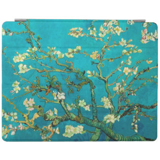 Arte floral floreciente del árbol de almendra de cover de iPad