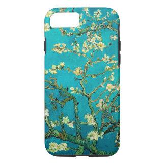 Arte floral floreciente del árbol de almendra de funda iPhone 7