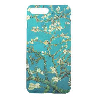 Arte floral floreciente del árbol de almendra de fundas para iPhone 7 plus