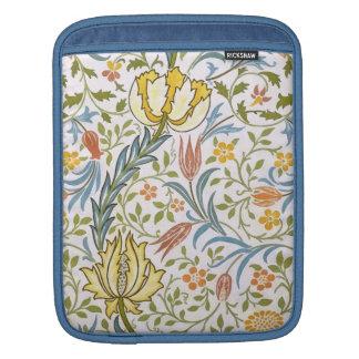 Arte floral Nouveau del vintage de la flora de Funda Para iPads