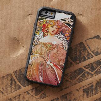 Arte floral Nouveau del vintage del ensueño de Funda Para iPhone 6 Tough Xtreme