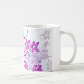 Arte floral tazas