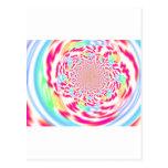Arte fresco, brillante y burbujeante del fractal postales