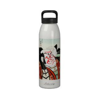 Arte fresco de Cangrejo del japonés de Oriettal Botella De Agua Reutilizable