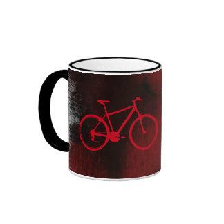 arte fresco de la bici taza