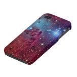 Arte fresco de la galaxia iPhone 4 carcasas