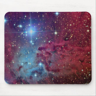 Arte fresco de la galaxia tapetes de raton