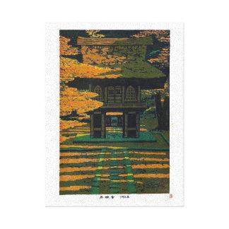 Arte fresco de Srine del bosque de Shiro Kasamatsu Impresion De Lienzo
