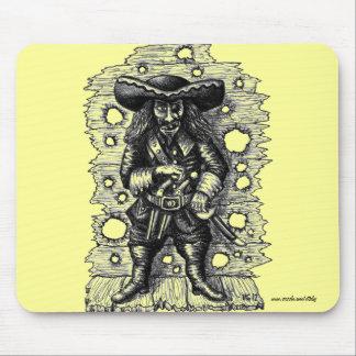 Arte fresco divertido del dibujo de la tinta de la tapetes de ratones