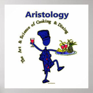 Arte gastrónomo de Aristology de cocinar