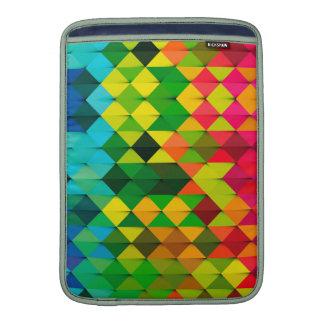 arte geométrico abstracto fundas MacBook