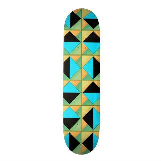 """Arte geométrico algorítmico patineta 8 1/2"""""""