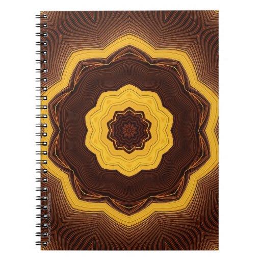 Arte geométrico islámico libro de apuntes con espiral