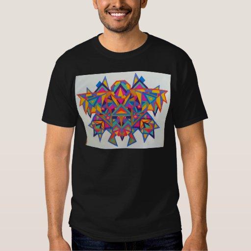 Arte geométrico original en todas sus cosas playeras