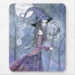Arte gótico de Halloween de la bruja Amethyst Tapete De Ratones