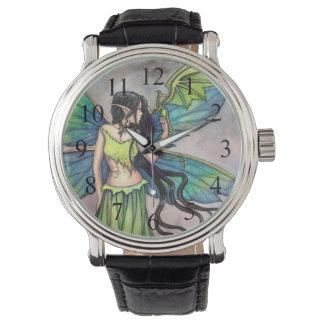 Arte gótico de la fantasía de Myscial de la hada y Relojes De Mano