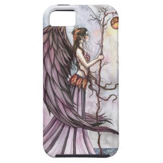 Arte gótico ligero de la hada de la fantasía del iPhone 5 carcasas