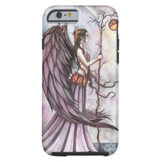 Arte gótico ligero de la hada de la fantasía del funda resistente iPhone 6