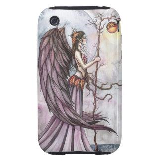 Arte gótico ligero de la hada de la fantasía del funda though para iPhone 3