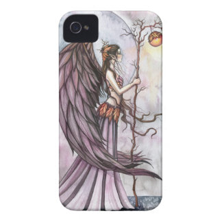 Arte gótico ligero de la hada de la fantasía del o Case-Mate iPhone 4 fundas