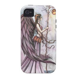 Arte gótico ligero de la hada de la fantasía del o vibe iPhone 4 fundas